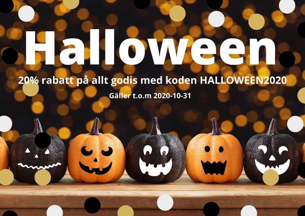 Halloween 2020 - REA på godis
